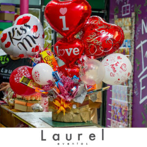 Regalo de Globos y chocolates
