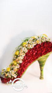 Zapato De Flores Laurel Eventos