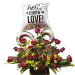 Arreglos para el dia de los enamorados en San DIego