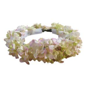 Corona de hortensias para pajes