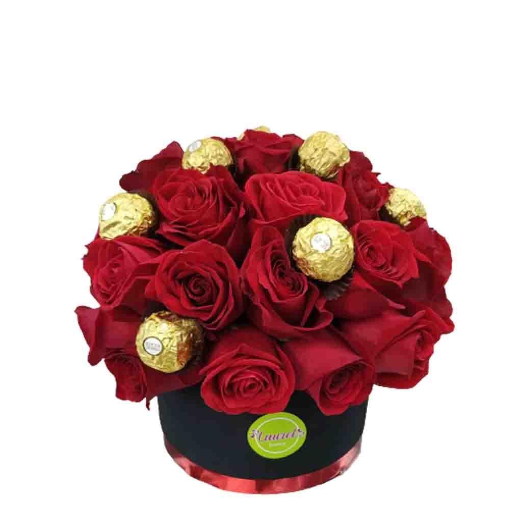 Cajas de Rosas en Valencia